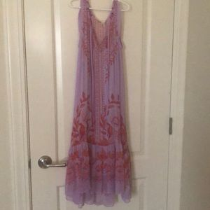 Anthropology Lilac Spring dress. US size 4. 💐